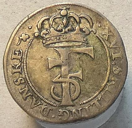 1 mark 1668 Norge
